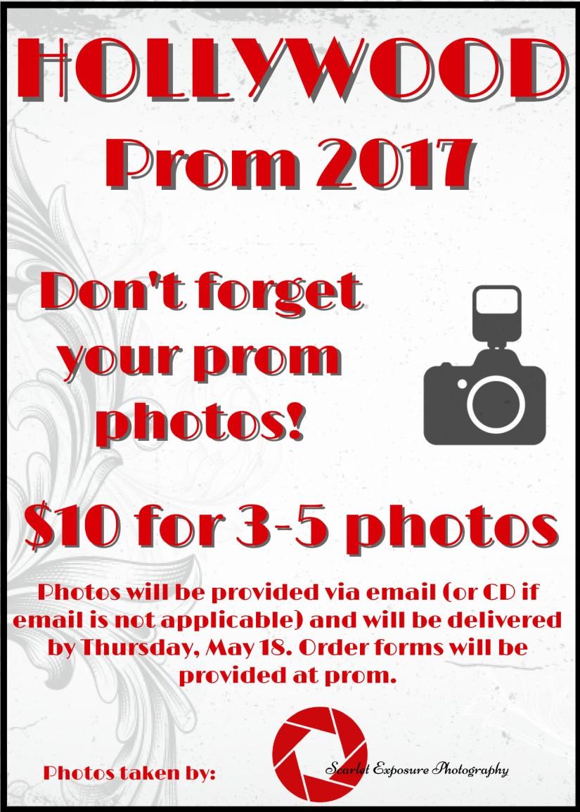 Clarksville Prom 2017 flier (edit)