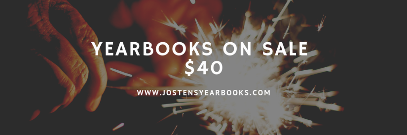Yearbooks on sale $40