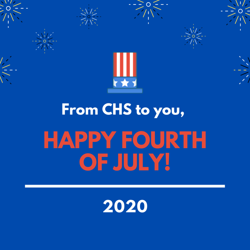 From CHS to you,